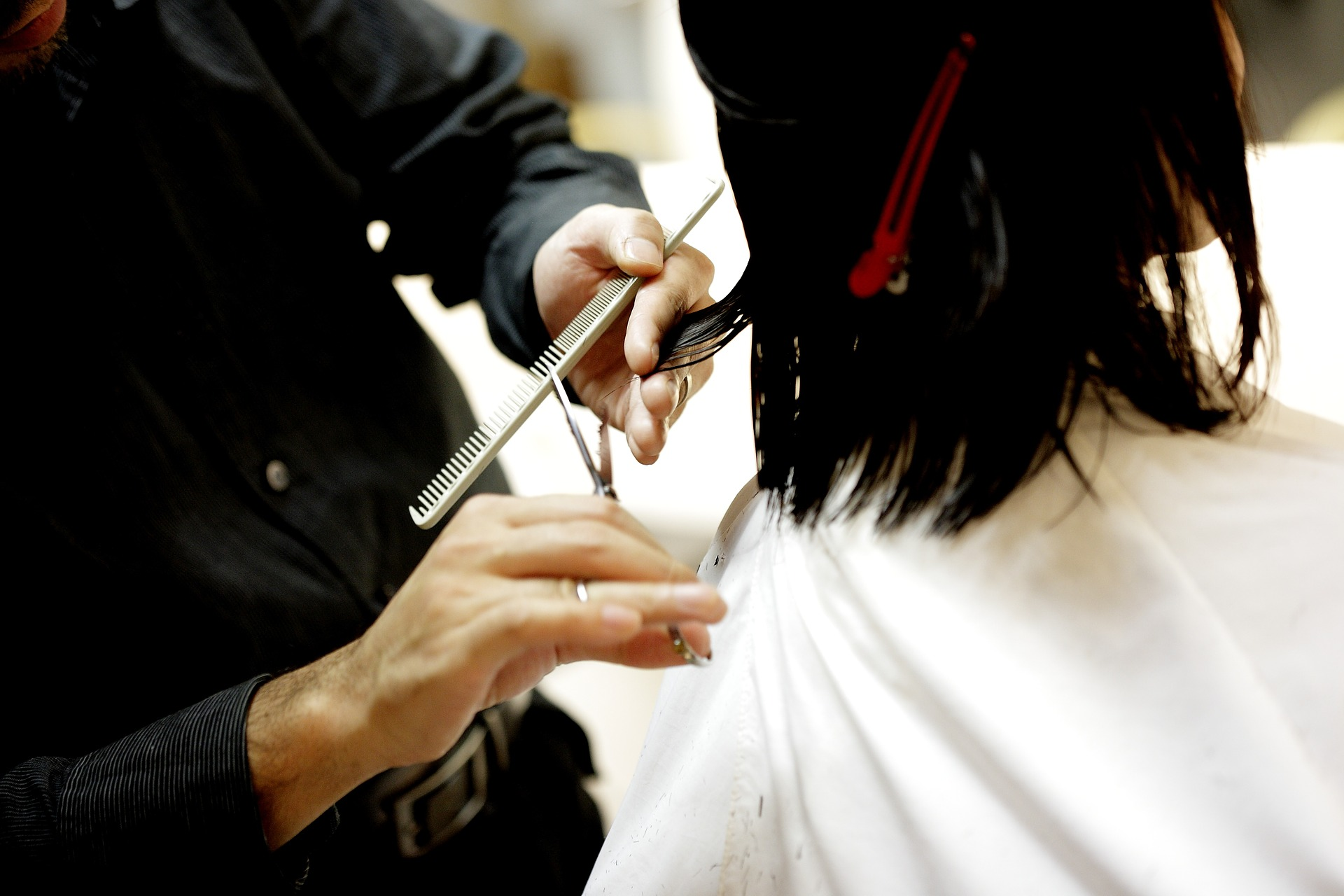 DIY haircut: Process and tools